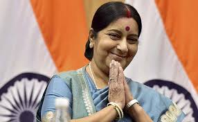 Sushma Swaraj, Biography, Profile, Age, Biodata, Family, Husband, Son, Daughter, Father, Mother, Children, Marriage Photos.