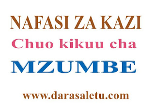 VACANCIES ANNOUNCEMENT AT MZUMBE UNIVERSITY (MU)