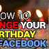 How to Change My Birthday On Facebook