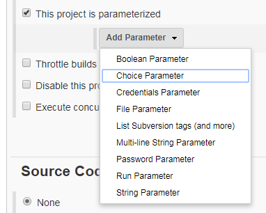 Build Jenkins Job with Condition and Parameter ~ ServerKaKa