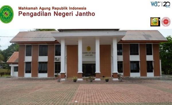 PENGADILAN NEGERI JANTHO : STAFF IT / INFORMASI DAN TEHNOLOGI - ACEH BESAR, INDONESIA