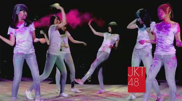 Para Fans Tak Sabar Untuk Nonton JKT48 di HUT Transmedia