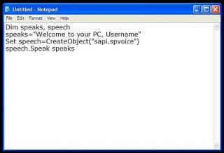 Cara membuat Komputer-Laptop mu bicara