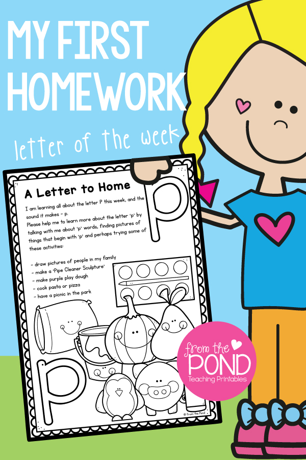 Is A Picture Page That Can Be Copied To The Back Of Letter Home Students Locate Cut And Paste Pictures From Magazines Colouring Books