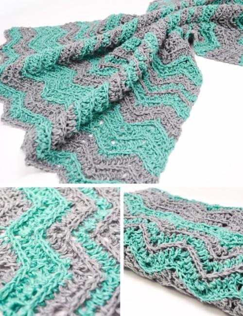 Chevron Flare Blanket - Free Pattern