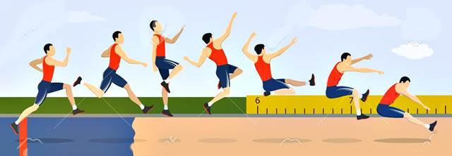 Técnica del salto largo