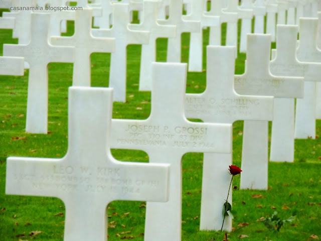 cemitério memorial americano normandia