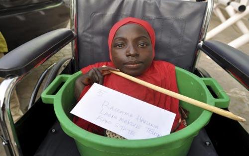 Gadis yang Hidup dalam Baskom