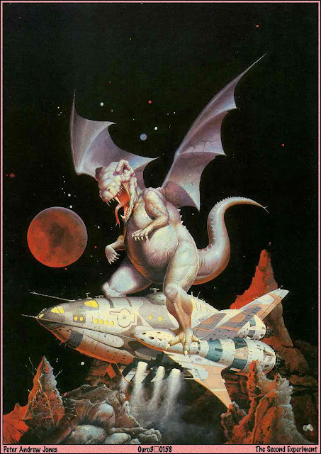"""The Second Experiment"", portada de la revista Heavy Metal (Diciembre 1978, Vol. 2 #8)"