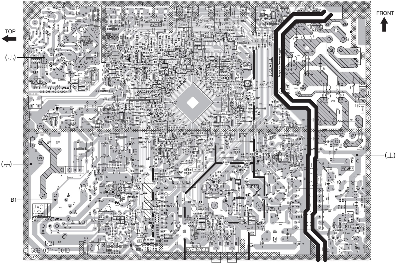 Marvelous Circuit Diagram Jvc Tv Basic Electronics Wiring Diagram Wiring 101 Mecadwellnesstrialsorg