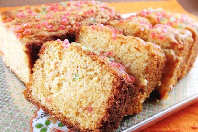 カラフルパウンドケーキ