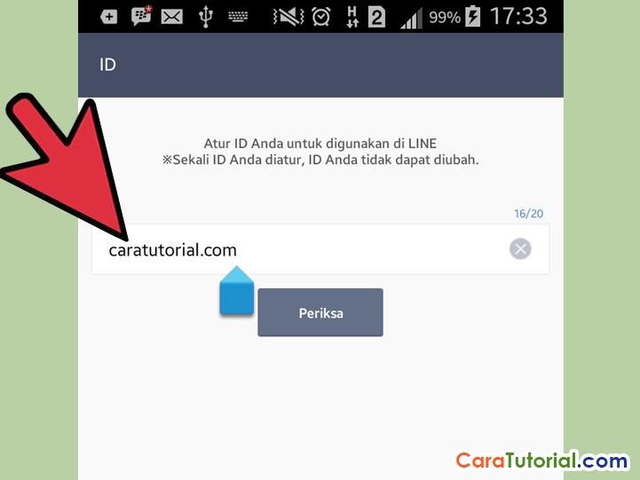 Mengatur User ID LINE Messenger