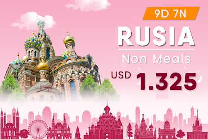 Paket Tour Rusia Non Meals