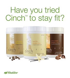 Cinch Shake membantu membakar lemak dan elak kulit menggeleber