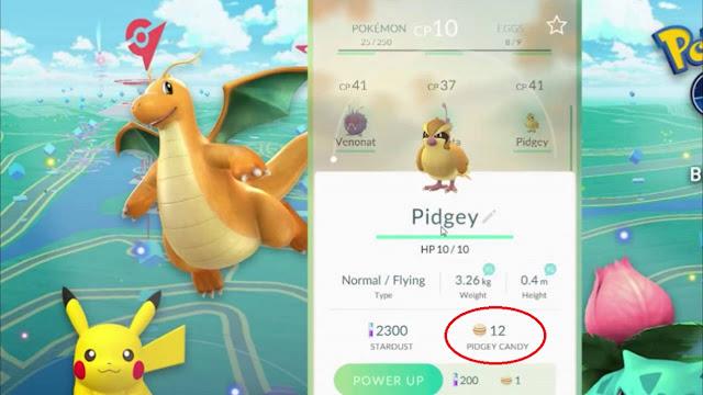 Cara Mendapatkan Banyak Candy di Pokemon GO
