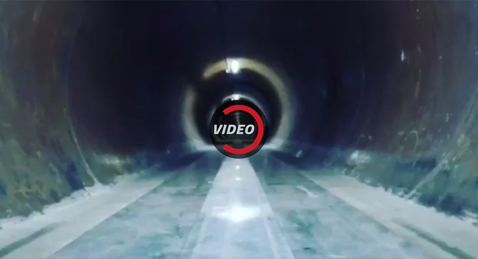 Elon Musk Shows Hyperloop Hitting Over 200 MPH