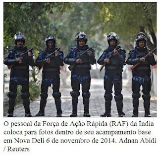 Índia (5ª) quinta maior potência militar do mundo