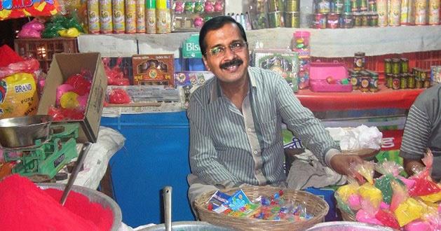 Sonakshi Sinha 2000p Photos: Funny Arvind Kejriwal Selling Holi Colors