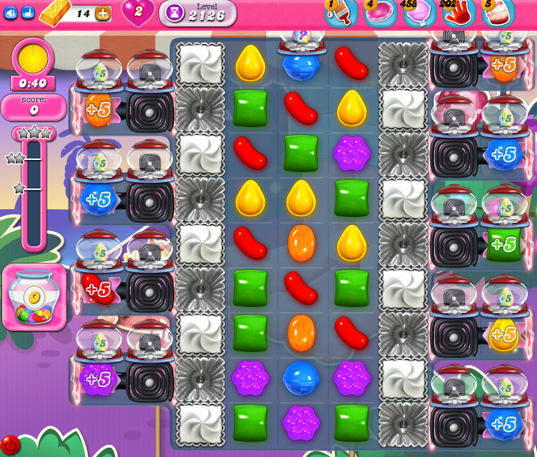 Candy Crush Saga level 2126