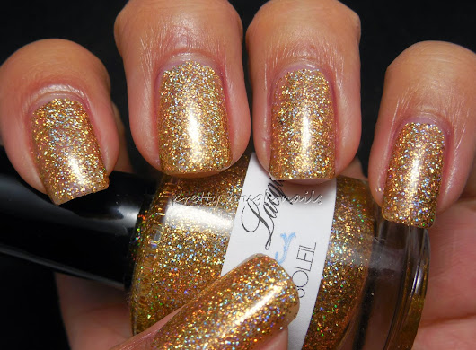 Lumina Lacquer Soleil Swatch And Review