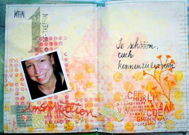 Mixed Media Montag | Designteam-Art Journal von Heidi