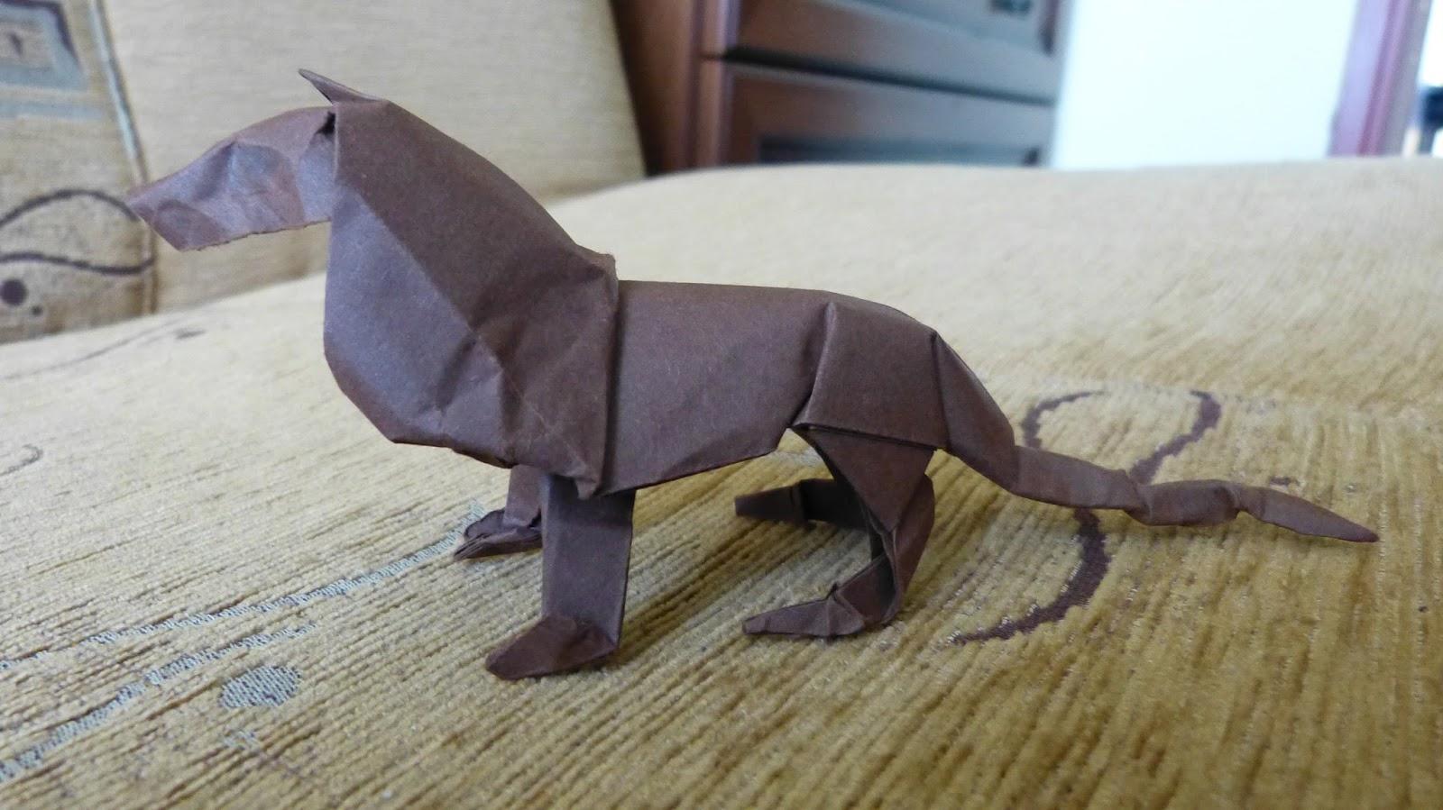 origami lew