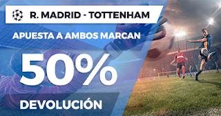 Paston Promoción Champions League: Real Madrid vs Tottenham 17 octubre