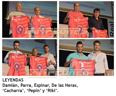 Real Aranjuez CF 70º Aniversario