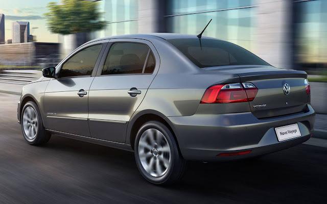 VW Voyage Comfortline 2017