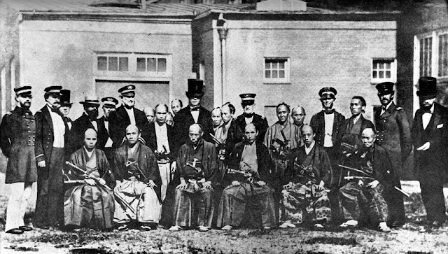 Japanese Mission to the US by Mathew Brady