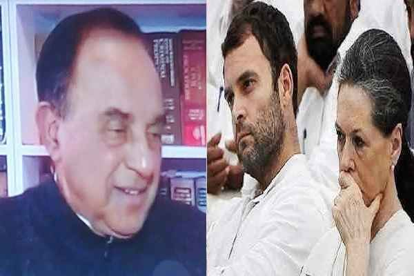 subramanian-swamy-told-rahul-gandhi-whole-family-is-christian