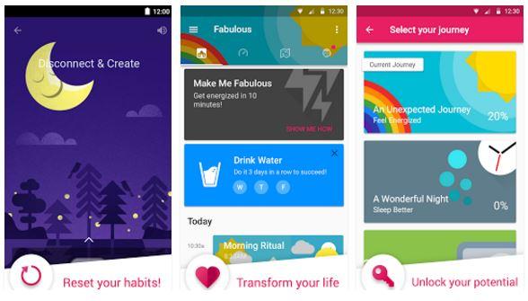 Fabulous apps link