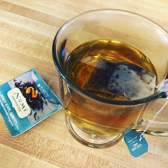 Numi Tea from October's Degustabox brings relaxation!