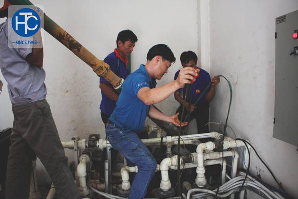 Nguyên tắc hoạt động của máy bơm nước giếng khoan hộ gia đình