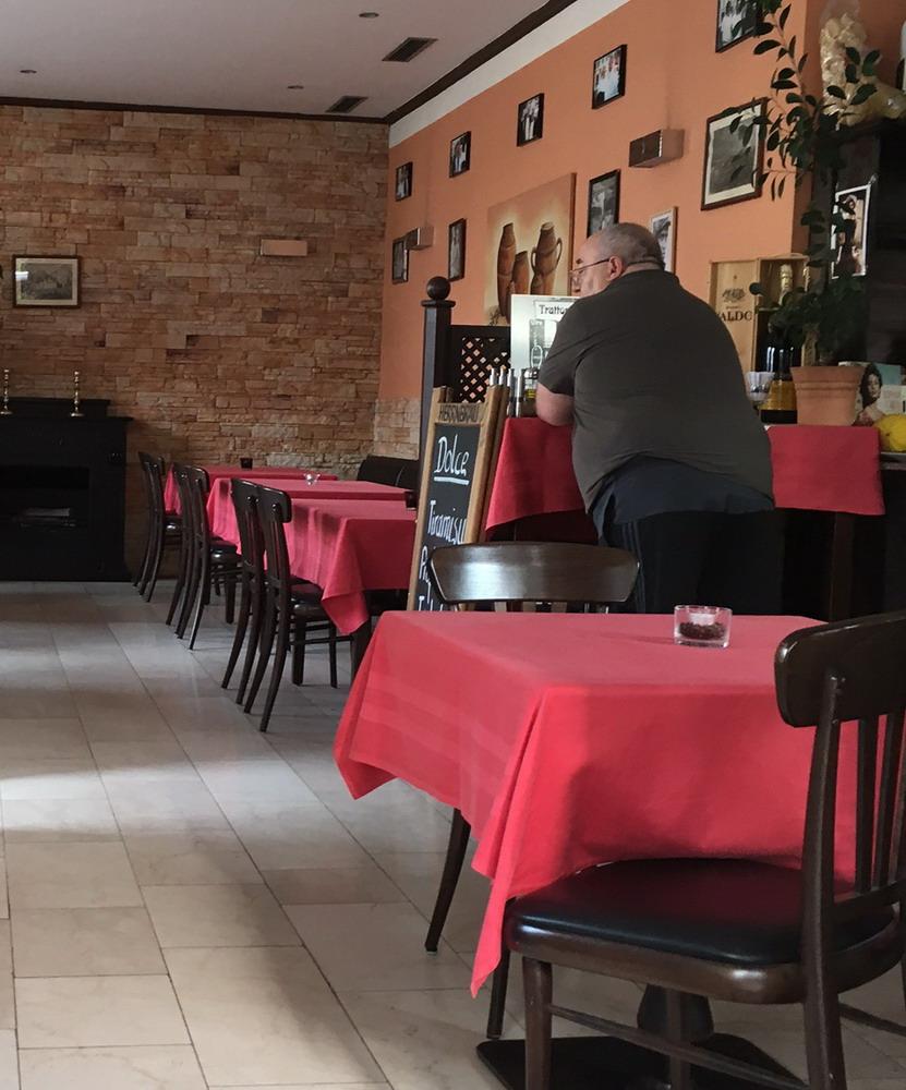 auswärts essen regensburg: In der Trattoria da Fernando in Regensburg