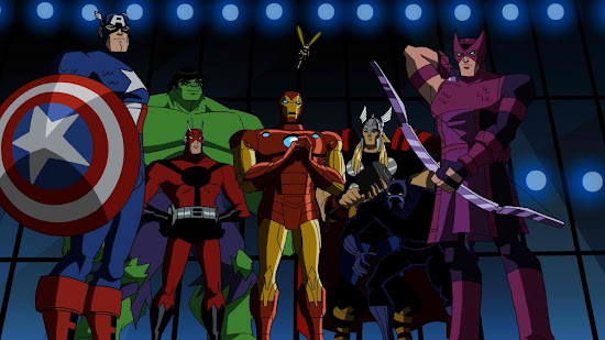 Superheroes of Avengers EMH