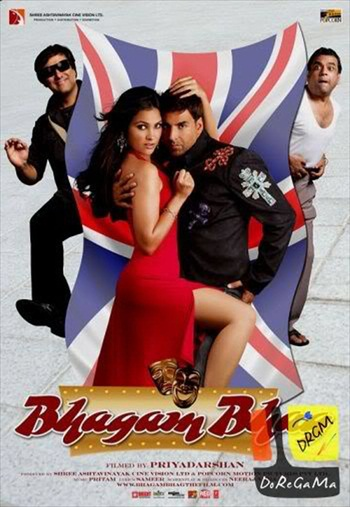 Bhagam Bhag 2006 Hindi 720p BluRay 1.1GB