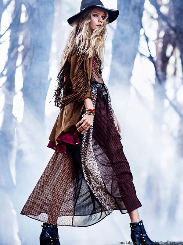 Looks de moda otoño invierno 2016 Rapsodia.