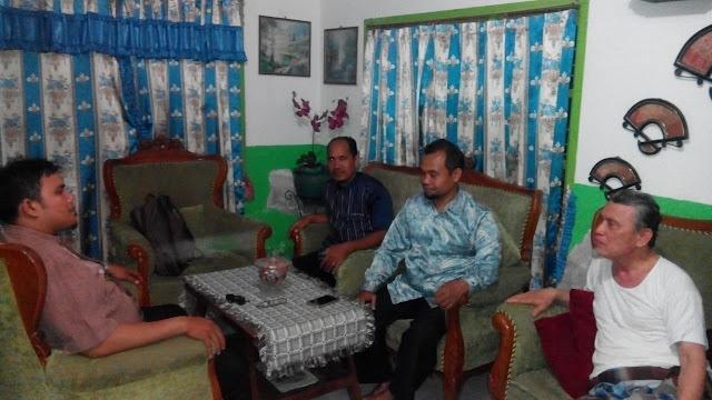 Jalin Silaturrahim, PKS Medan Area Kunjungi Ustadz Rumalis