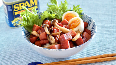 SPAM Teriyaki Rice Bowl