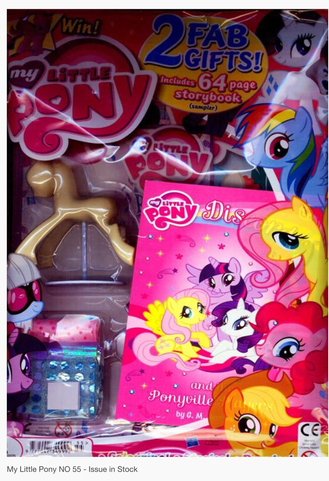 uk mlp magazine 55 comes with book mannequin mlp merch