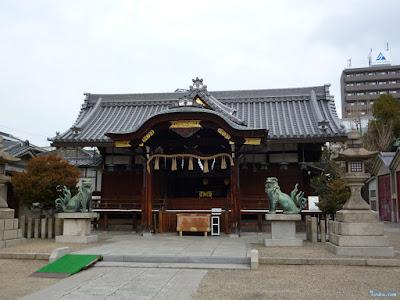 野田恵美須神社拝殿