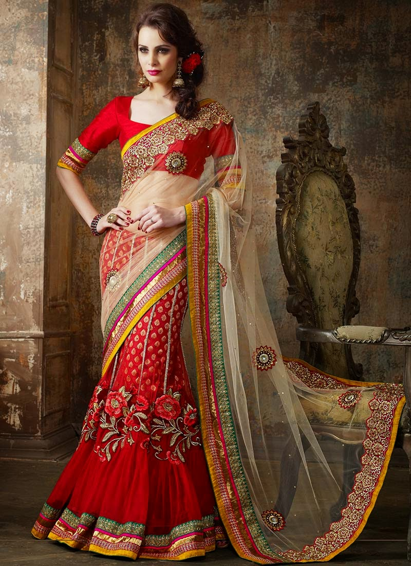 Stunning Indian Sari and Lehenga Inspirations