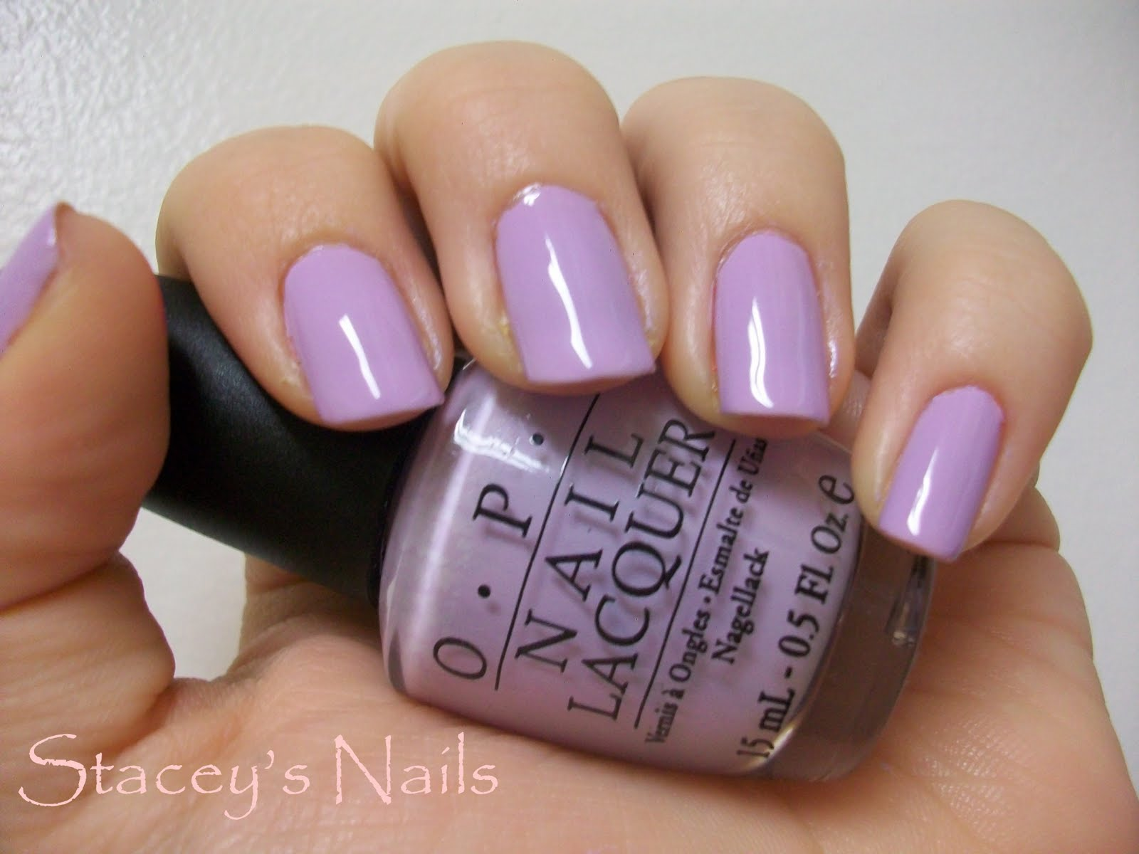 * Stacey's Nails *: Purple Nails for Caylee