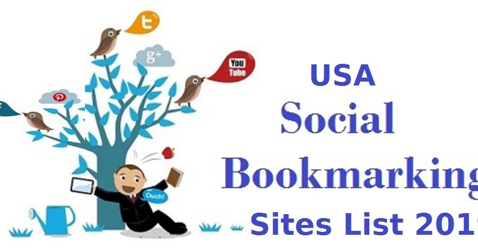 Free Social Bookmarking Sites List in USA - SEO Sites Online