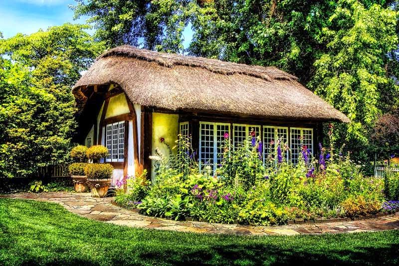 rumah pedesaan sederhana unik murah