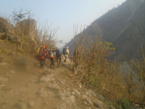 Book group Manaslu trekking with Manaslu trekking Agency.