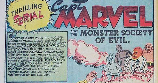 "MONSTER SOCIETY OF EVIL ""Chapter V: Marvel Meets Mr Mind!"""