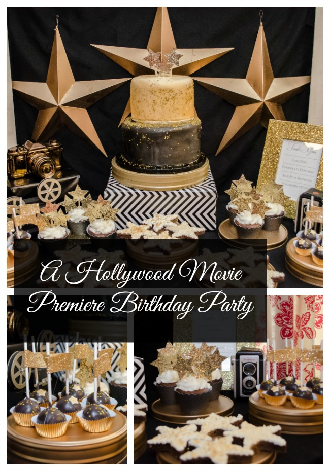My Life Homemade A Hollywood Movie Premiere Birthday Party