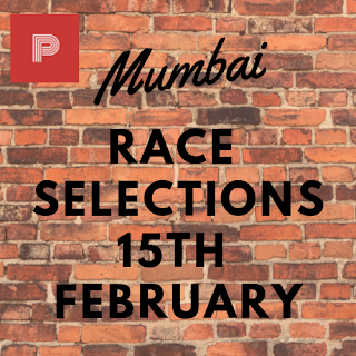 Mumbai Race Selections 15th February